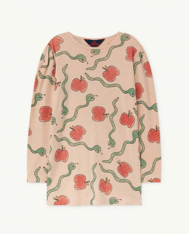 Apples and Snakes Pigeon Dress