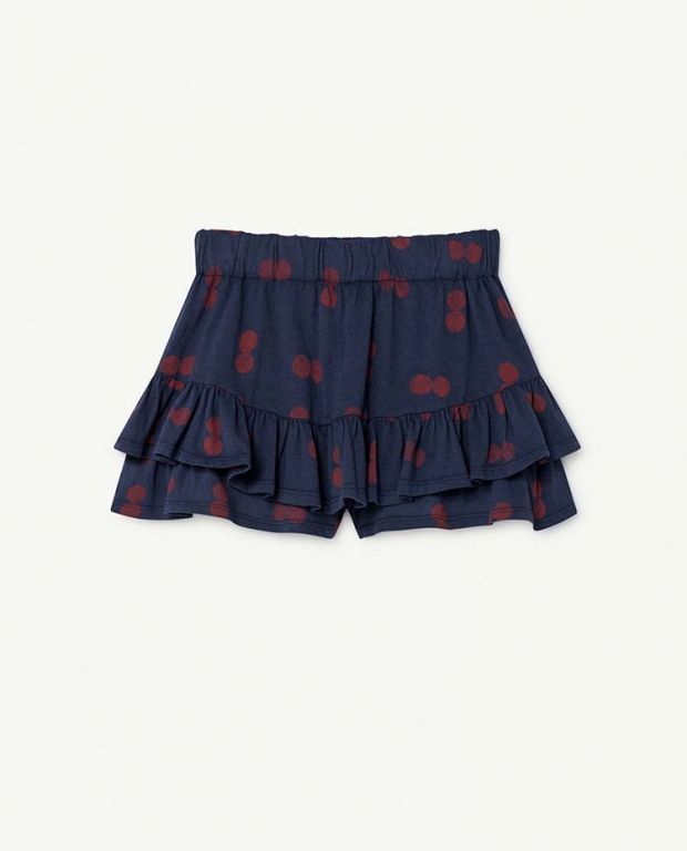 Blue Circles Kiwi Skirt