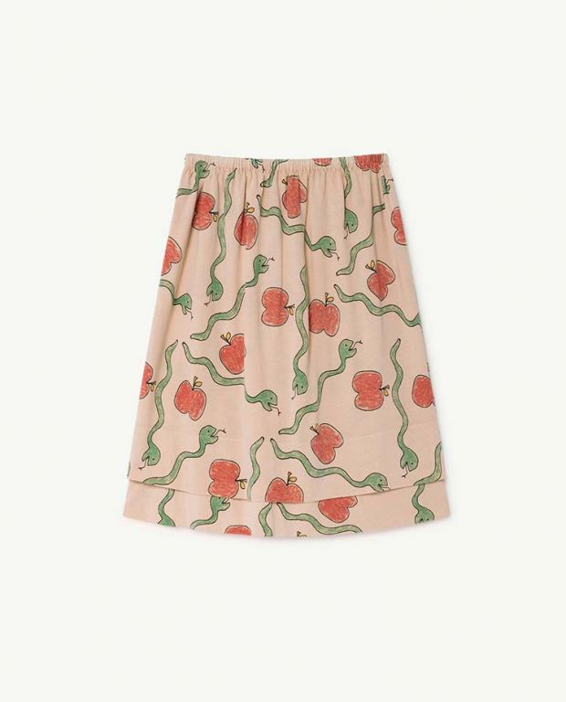 Apples and Snakes Kitten Skirt