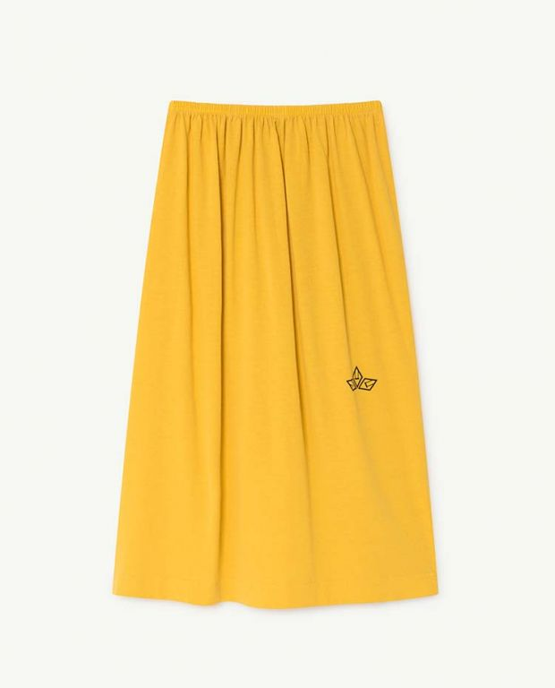 Yellow Kitten Skirt