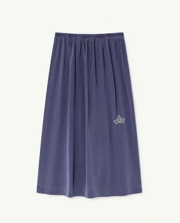 Blue Kitten Skirt