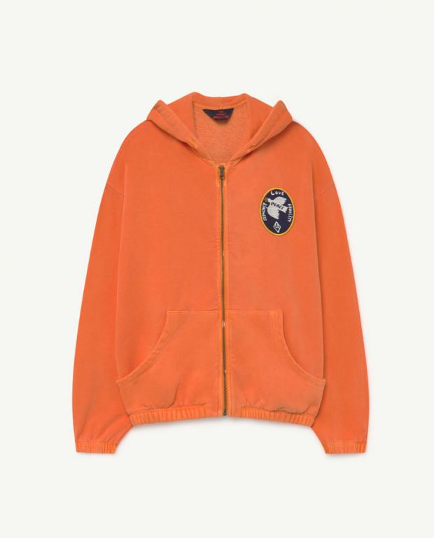 Orange Albatross Sweatshirt