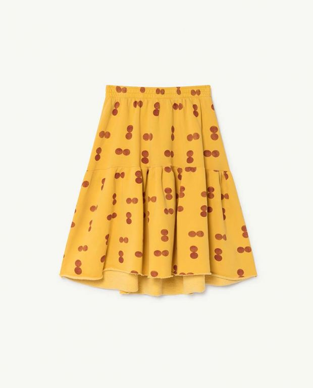 Yellow Cat Skirt