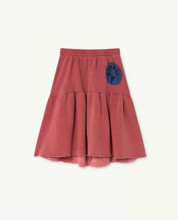 Red Cat Skirt