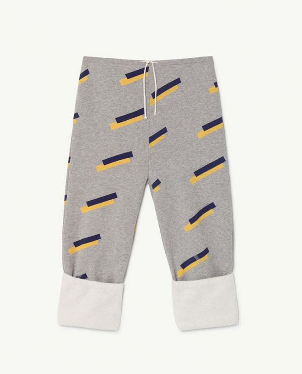 Grey 80's Magpie Pants