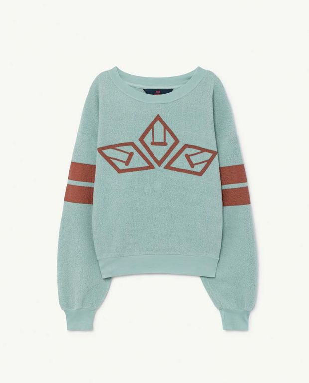 Light Blue Bear Sweatshirt