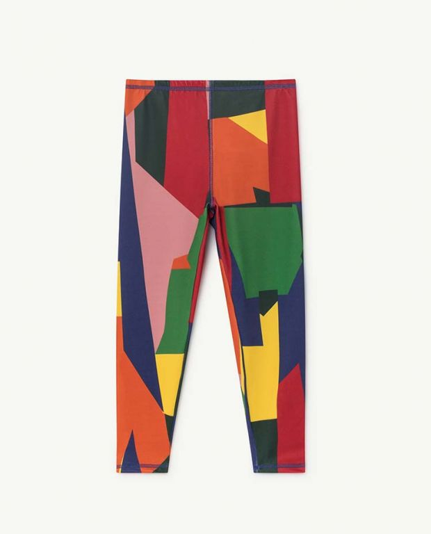 Seaqual Multicolor Geometric Alligator Leggings