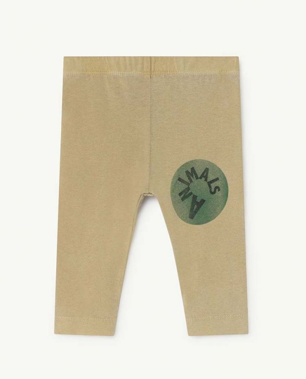 Khaki Penguin Leggings