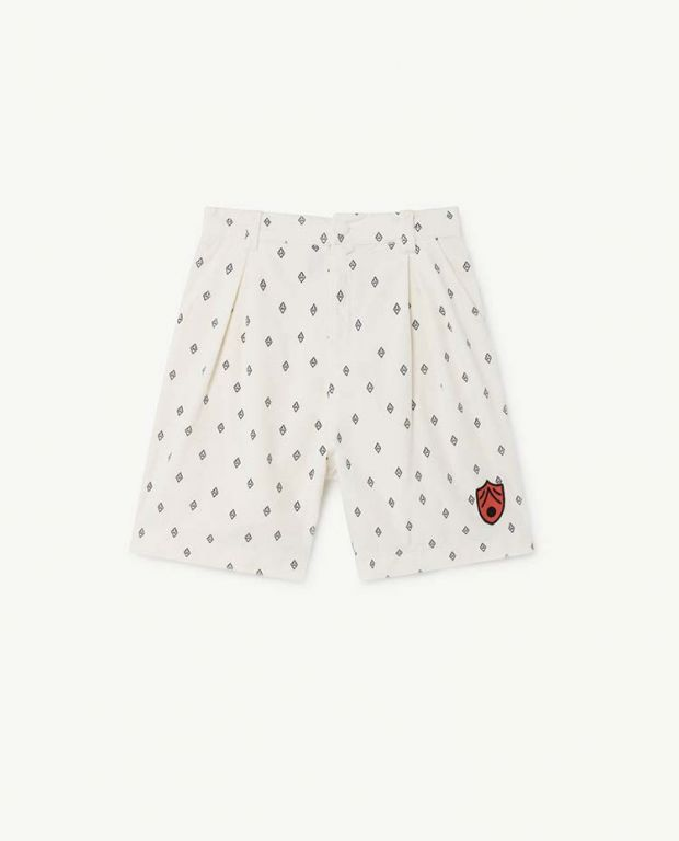 White Monkey Bermudas