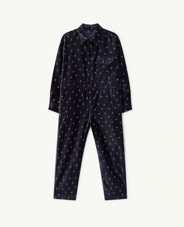 Navy Blue Grasshopper Jumpsuit