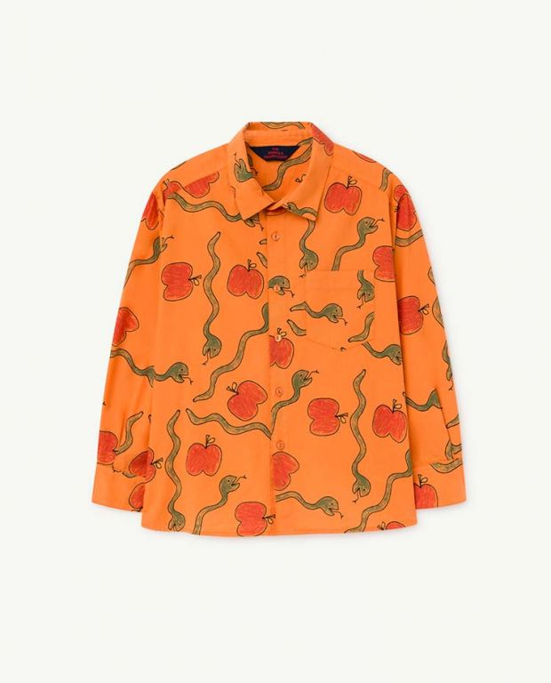 Apples and Snakes Wolf Shirt