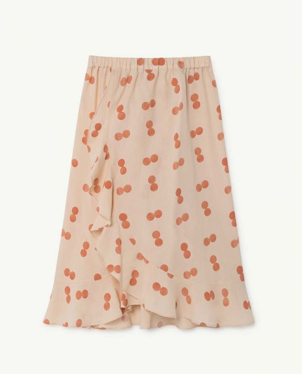 Orange Manatee Skirt