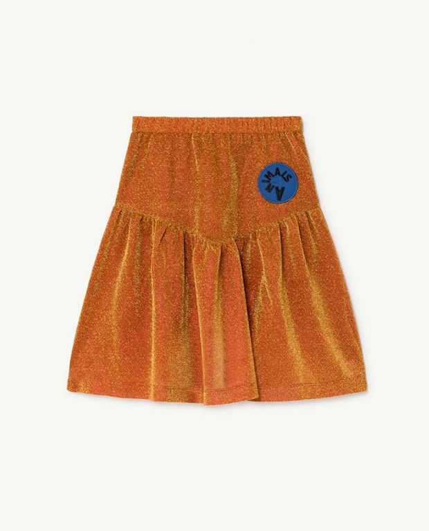 Orange Turkey Skirt