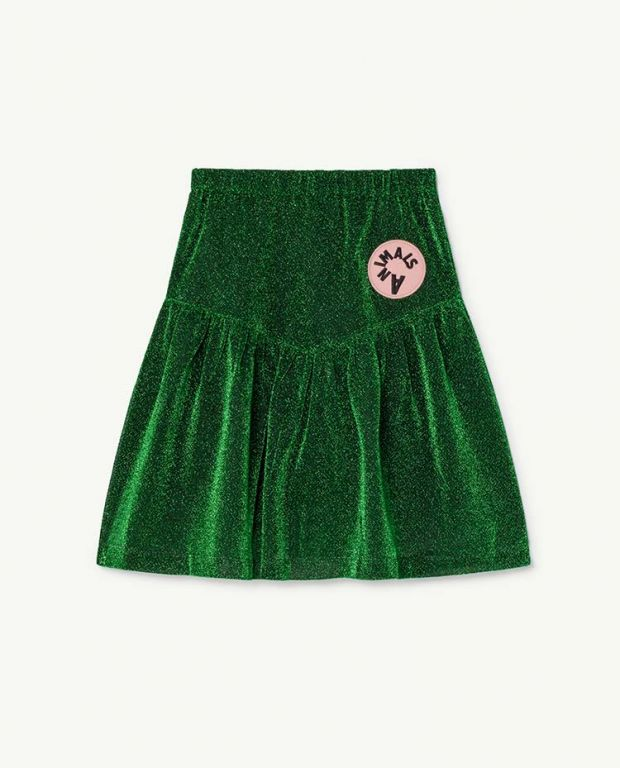 Electric Green Turkey Skirt