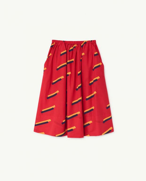 Red 80's Sow Skirt