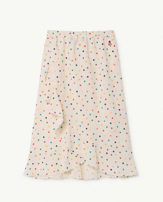 Raw White Manatee Skirt