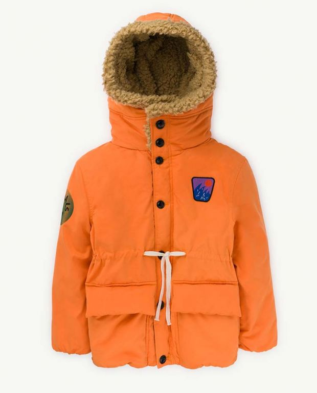 Orange Calf Jacket