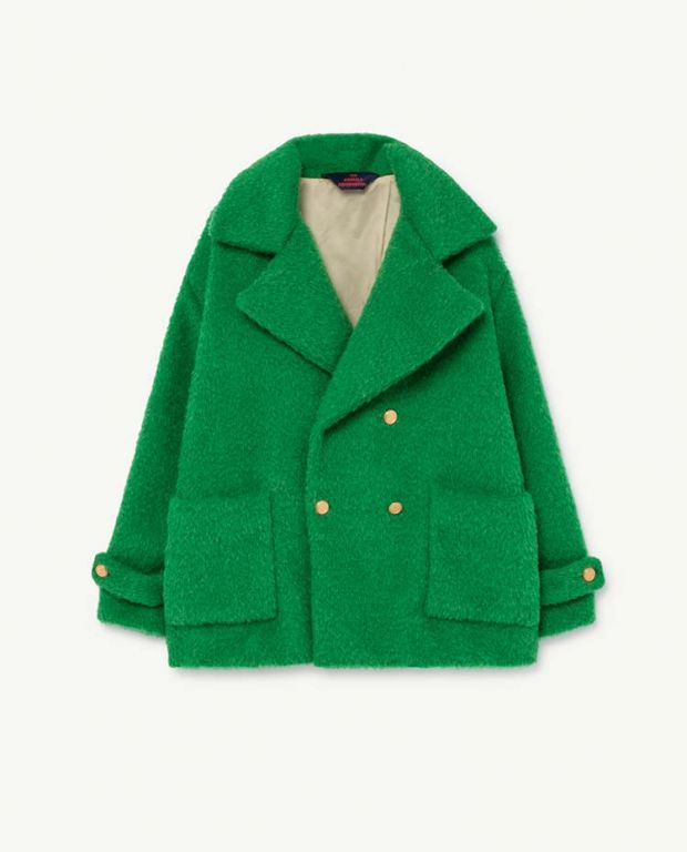 Electric Green Jaguar Coat