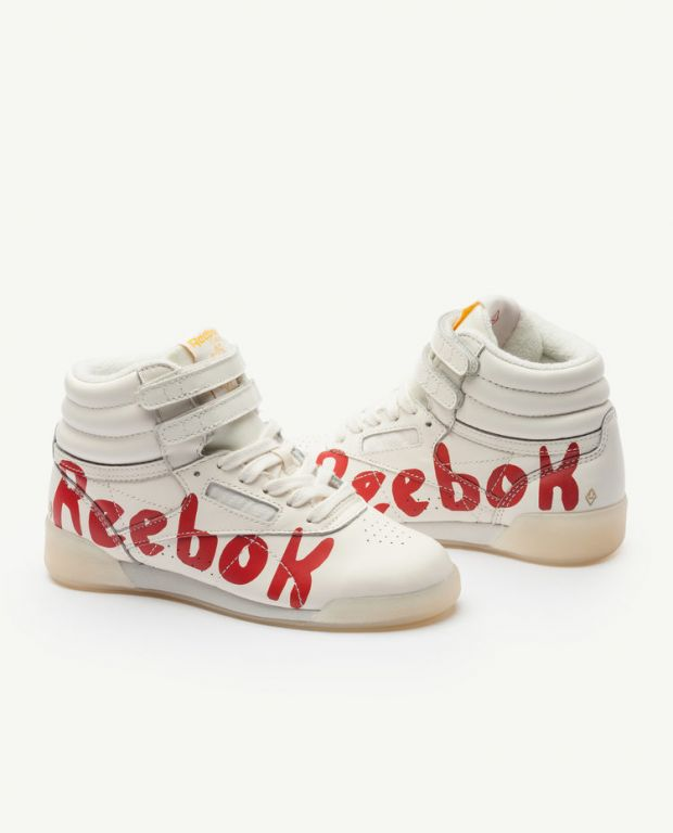 Reebok Classic x The Animals Observatory Freestyle Hi Red Kid