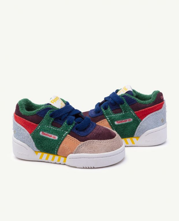 Reebok Classic x The Animals Observatory Workout Plus Multicolor Baby