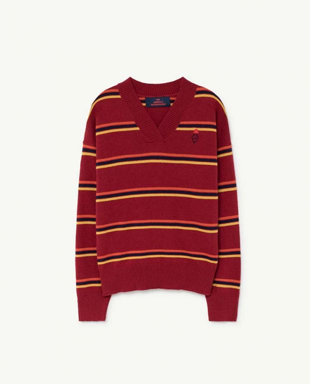 Maroon Toucan Sweater