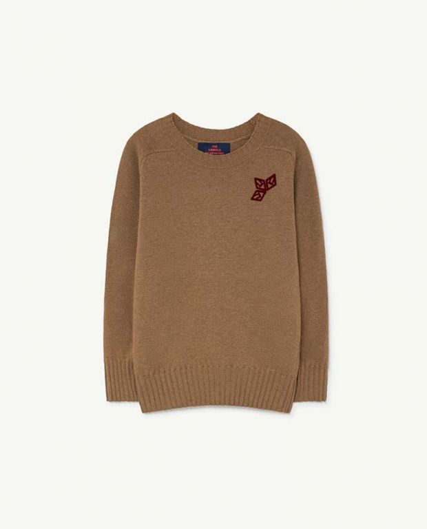 Deep Brown Sardine Sweater