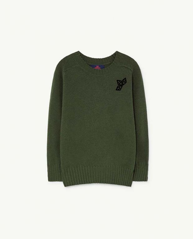 Green Sardine Sweater