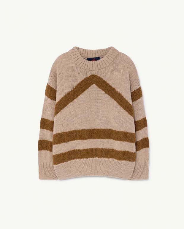 Soft Beige Bull Sweater