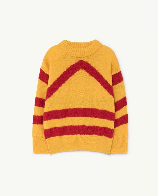 Yellow Bull Sweater