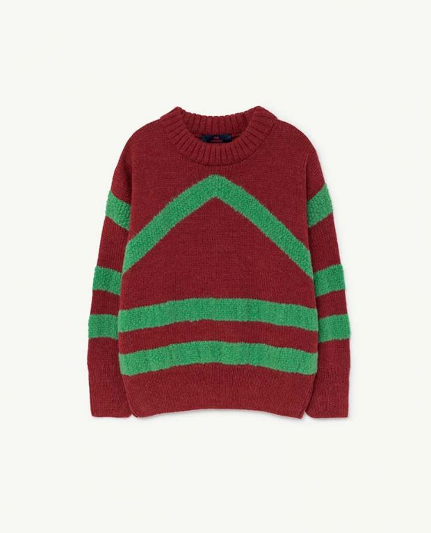 Maroon Bull Sweater