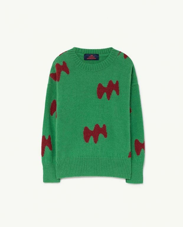 Green Raven Sweater