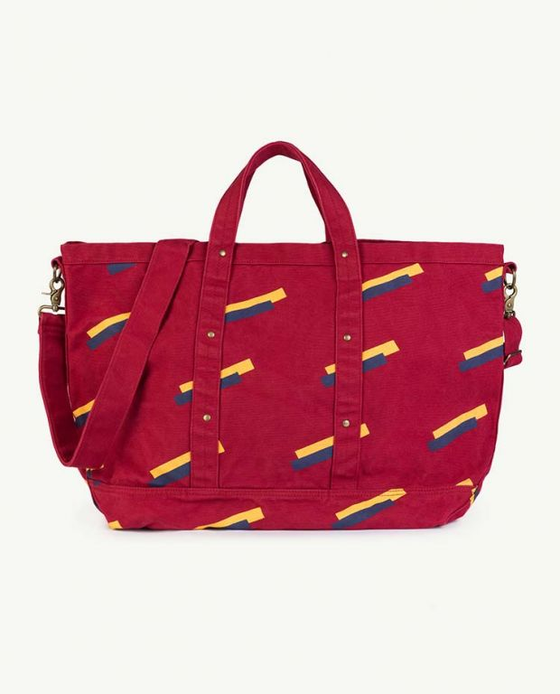 Red Apple 80's Canvas Bag