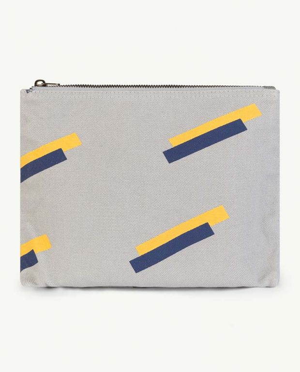 Grey 80's Pouch