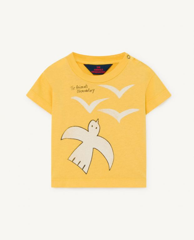 Yellow Rooster Baby T-Shirt