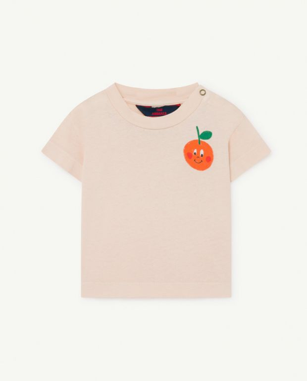 Pink Rooster Baby T-Shirt