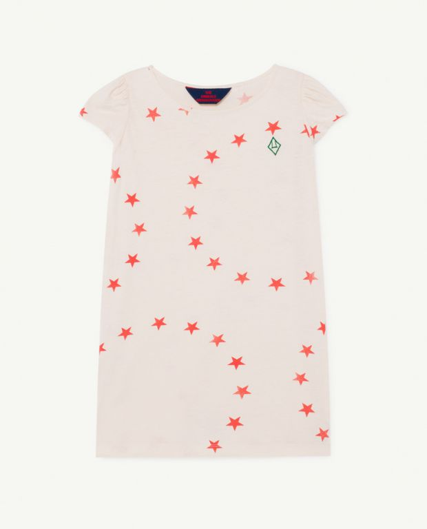 Star Flamingo T-Shirt Dress