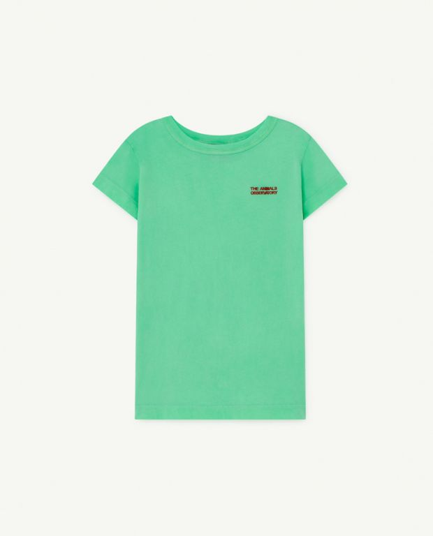 Green Oversize Rooster T-Shirt