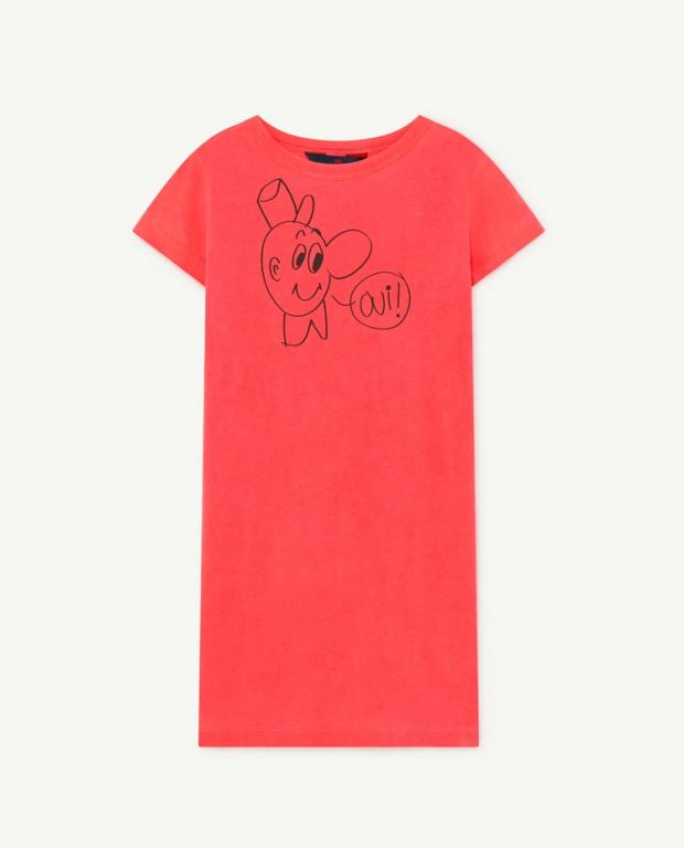 Red Gorilla T-Shirt Dress