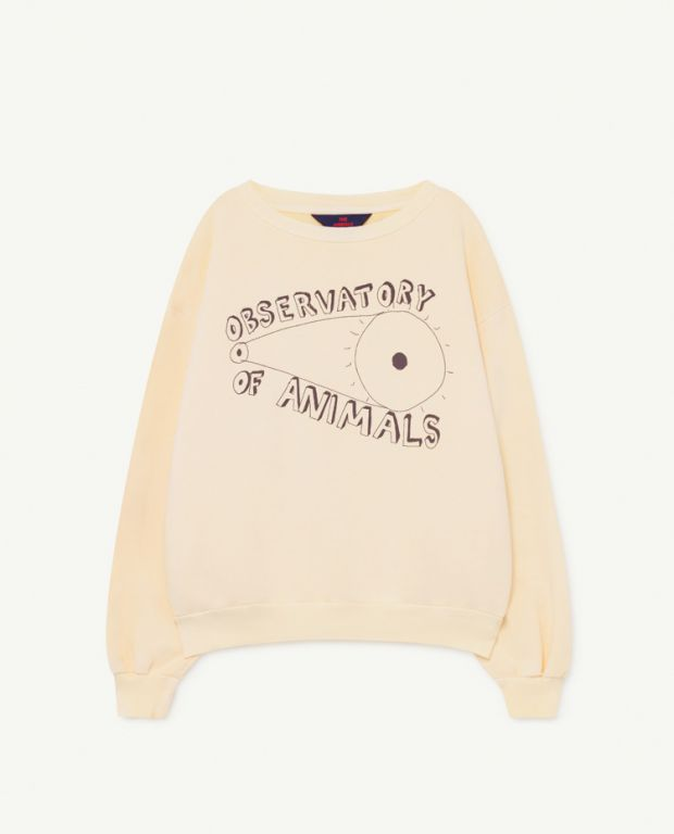 Cream Bear Sweatshirt