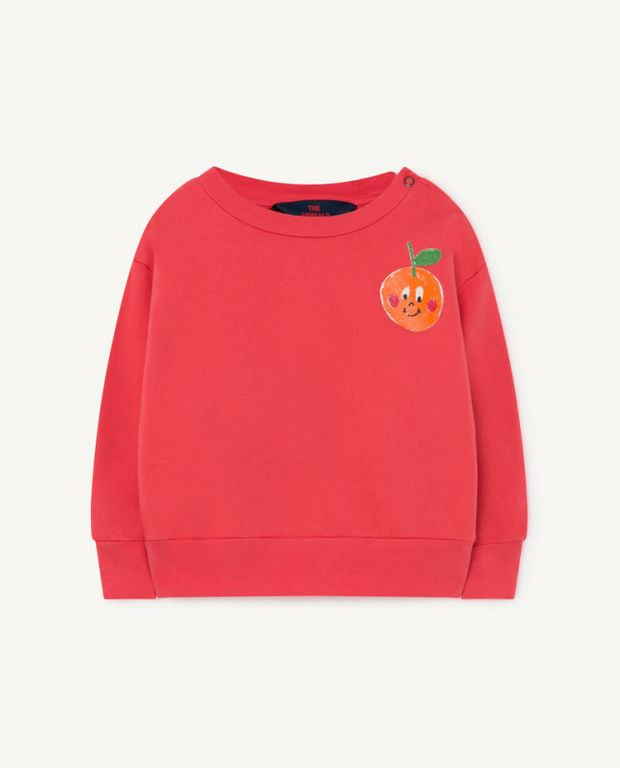 Red Baby Bear Sweatshirt