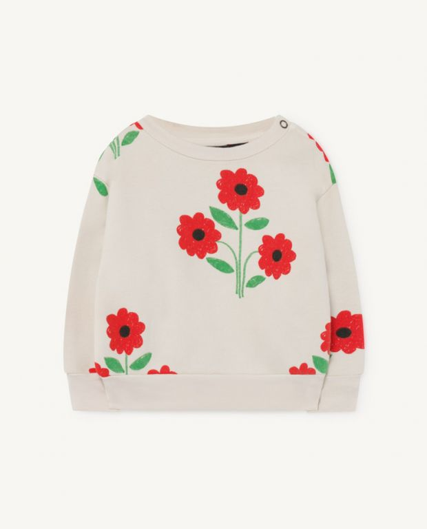 Flower Baby Bear Sweatshirt