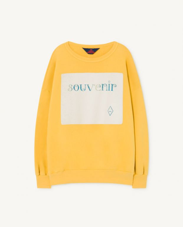 Yellow Big Bear Sweatshirt