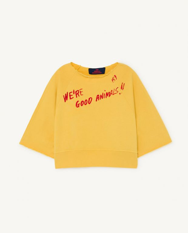 Yellow Squab Sweatshirt
