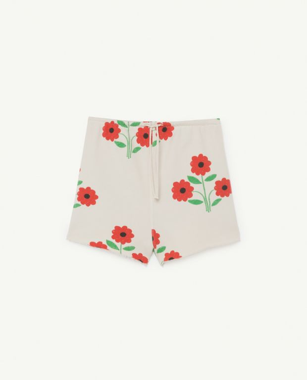 Flower Hedgehog Shorts