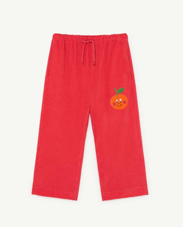 Red Porcupine Pants