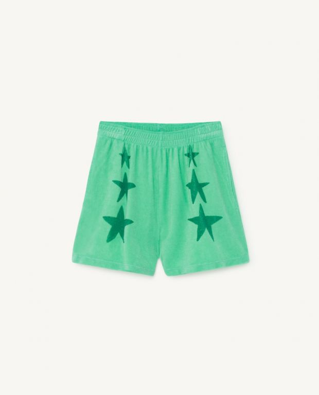 Green Poodle Shorts