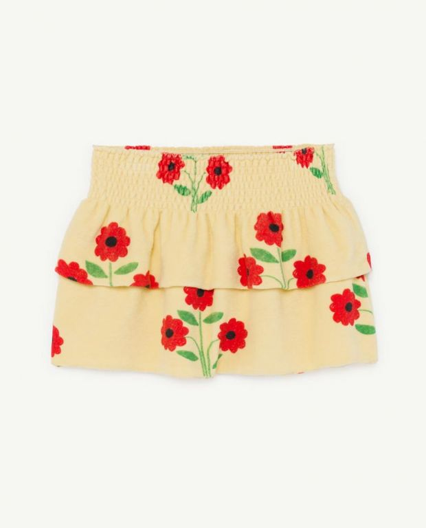 Flower Wombat Skirt