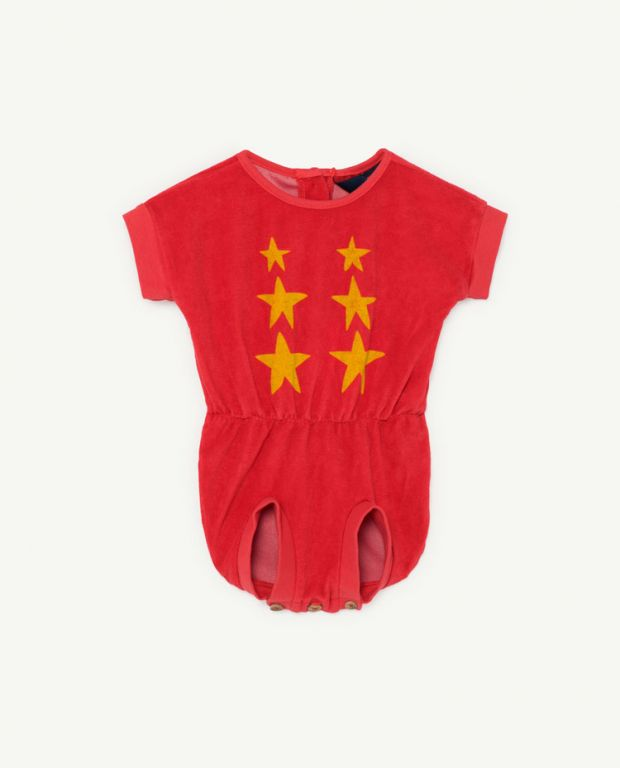 Red Koala Baby Jumpsuit