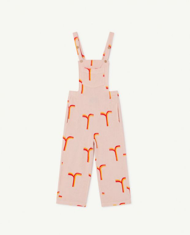 Pink Eagle Dungaree