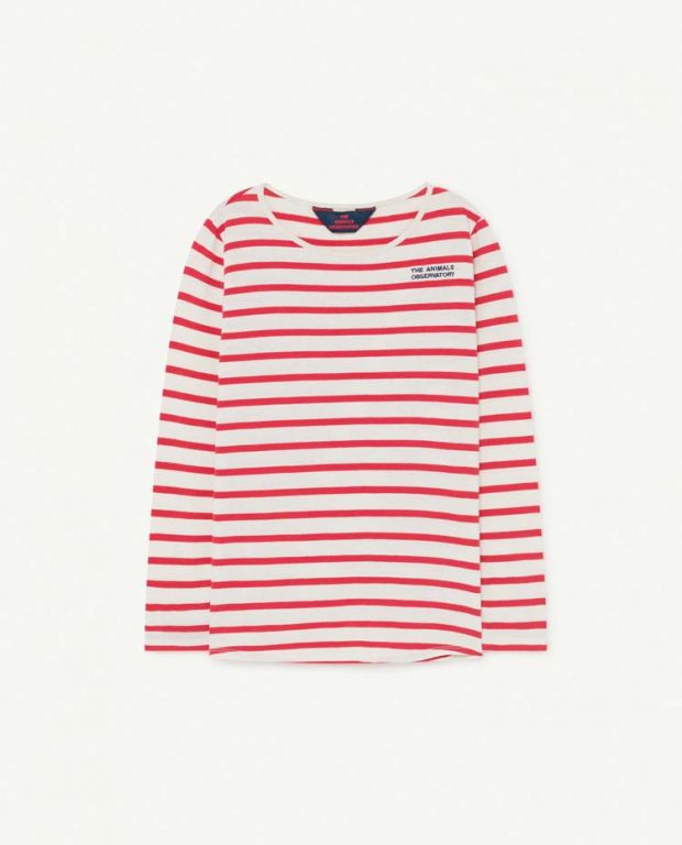 Red Striped Deer T-Shirt
